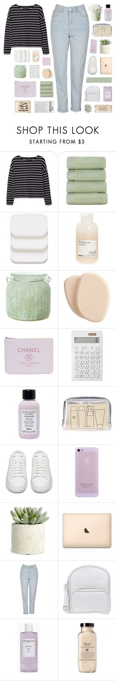 """""""ECHO"""" by bosspresident ❤ liked on Polyvore featuring MANGO, COVERGIRL, Davines, The Amazing Flameless Candle, Clé de Peau Beauté, Muji, Yves Saint Laurent, Allstate Floral, Topshop and Jil Sander Navy"""