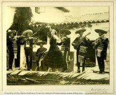 Santa Barbara Trust for Historic Preservation  Historic photos of Old Spanish Days Fiesta in Santa Barbara.