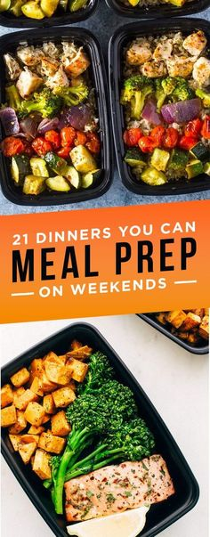 21 Healthyish Dinners You Can Make Ahead Of Time