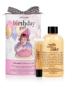Philosophy's Vanilla Birthday Cake Body Wash is the best!