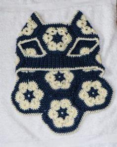 Ravelry: African Flower Dog Sweater pattern by Melissa Hollenbeck Dog Sweater Pattern, Crochet Dog Sweater, Crochet Pet, Crochet Dog Clothes, Crochet African Flowers, Dachshund Sweater, Dog Jumpers, Dog Clothes Patterns, Crochet Shawls And Wraps