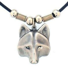 Siskiyou SportsPT52S Earth Spirit Necklace- Wolf Head Review Buy Now
