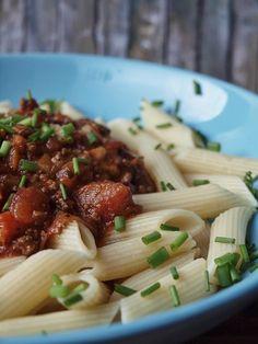 Rezept für Pasta mit Bolognese