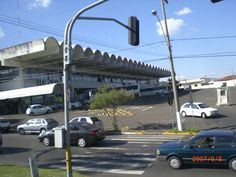 Estação Rodoviária vista da Avenida Brasília (Foto tirada do ônibus em movimento) - Araçatuba - SP - Brazil