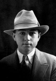 Clyde Barrow 1926, 17 years old
