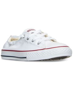 Converse Girls' Chuck Taylor All Star Shoreline Slip On Casual Sneakers from Finish Line