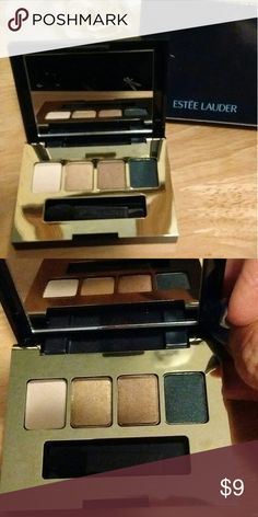 💋New_Estee Lauder The Eyes Have It Pure Color Envy sculpting eyeshadows the colors are Pearl, gold, bronze, and midnight. Sponge applicator wand is included. .01oz.NWOT Estee Lauder Makeup Eyeshadow