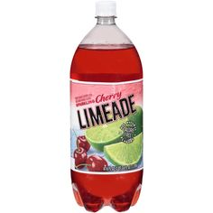 Cherry Limeade soda from Wal Mart - calorie-free, sugar-free, sodium-free : LOVE this stuff for summer!