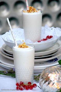 mellimille: White Dinner... Weiße Eisschokolade mit Mandelcrun...
