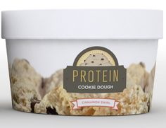 Protein Cookie Dough - Cinnamon Roll - 4 oz