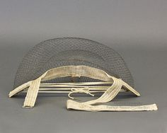 Reversible Player Bustle | 1885 | Ryerson Fashion Research Collection