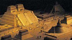 Templo Mayor, Tenochtitlan, Aztecas, México