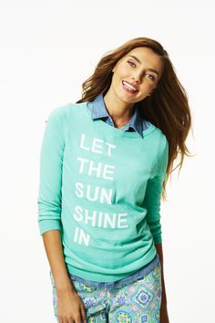 Let The Sun Shine In Sweater