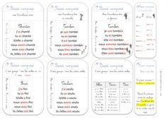 """Cartes """"mémoire"""" conjugaison cycle 2 et 3"""