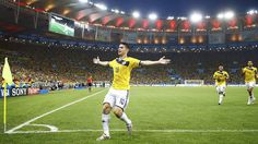 Gol de James Rodríguez é eleito o mais bonito da Copa 2014