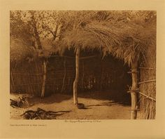volume 15  facing: page  112 Cahuilla house in the desert