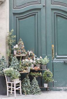 "lilyadoreparis: "" Christmas time in Paris by Georgianna Lane. """