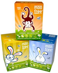 Moo Free Chocolate Easter Eggs | Free-From Heaven  Gluten-free, lactose-free, casein-free, egg-free, and suitable for vegetarians and vegans