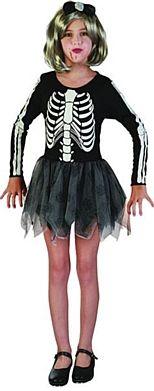 Skeleton Girl Halloween Costume
