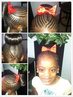 Excellent Little Girl Braids Girls Braids And Cute Little Girls On Pinterest Short Hairstyles For Black Women Fulllsitofus