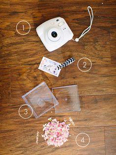 DIY instant photo valentine from Beijos Events   Meg Perotti   100 Layer Cakelet