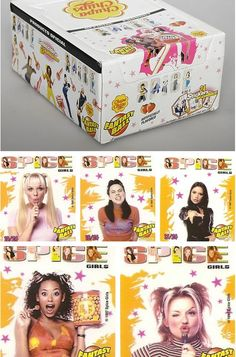 I think I bought just about everyone of these from Madison Square Malls the Limited Too and hung each different wrappers picture on my doors collage of Spice Girl stuff!