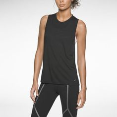 Nike Luxe Highneck Racerback Women's Running Tank Top