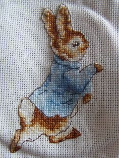Beatrix Potter's Peter Rabbit Cross stitch