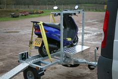 This Trailer is designed to be used behind larger vehicles such as Motorhomes and Campervans but can be towed behind any vehicle. because it is short in length it is ideal for people with limited...