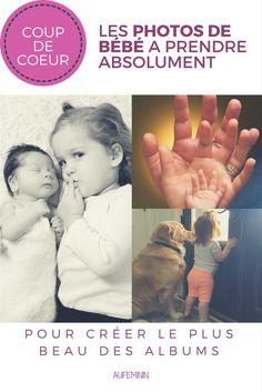 16 photos de bébé à prendre absolument au cours de sa première année