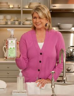 On a recent episode of the Martha Stewart Show, I showcased our new Martha Stewart Clean line of products, which are now available at The Home Depot. Whats Gaby Cooking, Martha Stewart Blog, American Made, Things That Bounce, Cleaning Products, Chefs, Cupcakes, Tips, Vintage