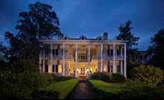 Pebble Hill Plantation in Thomasville, #Georgia covers 3,000 acres and dates back to 1826.