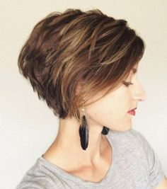 Love Bob hairstyles for women? wanna give your hair a new look? Bob hairstyles for women is a good choice for you. Here you will find some super sexy Bob hairstyles for women, Find the best one for you, Girls Short Haircuts, Short Bob Hairstyles, Medium Hairstyles, Sassy Haircuts, Wedge Hairstyles, Hairstyles Haircuts, Hairstyle Short, Haircut Short, Short Stacked Haircuts