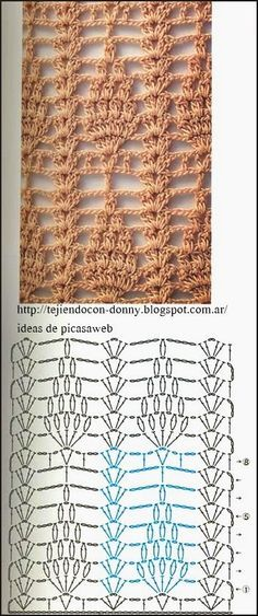 Captivating Crochet a Bodycon Dress Top Ideas. Dazzling Crochet a Bodycon Dress Top Ideas. Crochet Wool, Crochet Motifs, Crochet Diagram, Crochet Stitches Patterns, Crochet Chart, Lace Patterns, Thread Crochet, Crochet Designs, Crochet Doilies