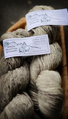 Rhinebeck, Commerce Style (this year's yarn, from green mountain spinnery)