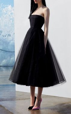 A line black tulle strapless prom dress, Shop plus-sized prom dresses for curvy figures and plus-size party dresses. Ball gowns for prom in plus sizes and short plus-sized prom dresses for Trendy Dresses, Elegant Dresses, Cute Dresses, Beautiful Dresses, Dresses For Work, Formal Dresses, Party Dresses, Sexy Dresses, Wedding Dresses
