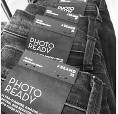 Photo Ready Denim has arrived! J Brand for Fall..