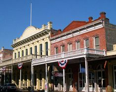 Old Town Sacramento, California