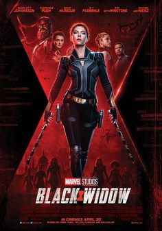 In Marvel Studios' action-packed spy thriller Black Widow, Natasha Romanoff aka Black Widow confronts the darker parts of her ledger when a dangerous conspiracy with ties to her past arises. Watch The Powerful New Trailer for Marvel Studios' Black Widow o Black Widow Trailer, Black Widow Movie, Black Widow Marvel, Movie Black, Black Widow Scarlett, Hero Marvel, Captain Marvel, Marvel Dc, Captain America