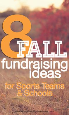 Help your school, sports team, club or organization raise money with one of these top Fall Fundraiser Ideas.