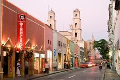 Mérida Yucatán.Destinos de semana santa