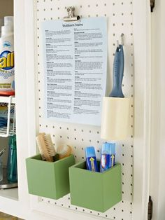 Five ideas to organize your laundry room | Skip To My Lou