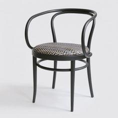 Thonet reinterprets classic bentwood 209 chair with Bolon's Villa La Madonna material