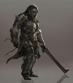 Uruk Infantry by Josh Corpuz.