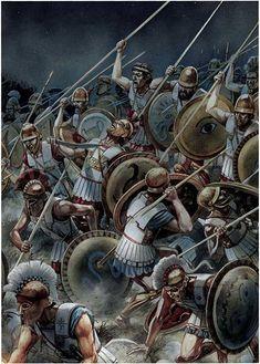 Армия Сиракуз против афинян