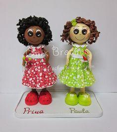 Ónix Broches: Bautizo de estas peques. Priya y Paula.