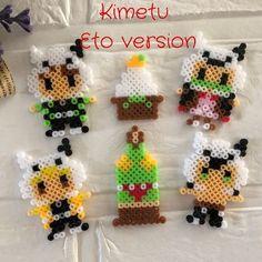 Perler Beads, Pixel Art, Cross Stitch, Crochet Hats, Christmas Ornaments, Holiday Decor, Hama, Patterns, Knitting Hats