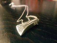 This is my favouite and most enjoyable piece ive made so far. I have dedicated it to the four Stags of Yggdrasil Dáinn, Davlinn, Duneyrr and Duraþrór.  Ive made it in Sterling Silver it is 3.5cm in length. Truly a Necklace for a true Viking. Available for purchace $77 #viking #yggdrasil #odin #thor #jewelry #odin jewelry #makersgottamake