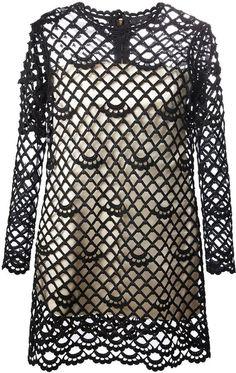 Marc Jacobs crochet dress