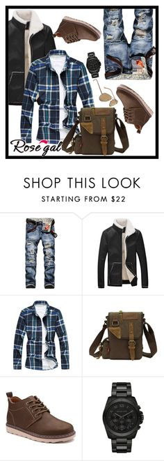"""""""Men #2 follow"""" by marii-96-1 ❤ liked on Polyvore featuring Michael Kors, Aéropostale, men's fashion and menswear"""